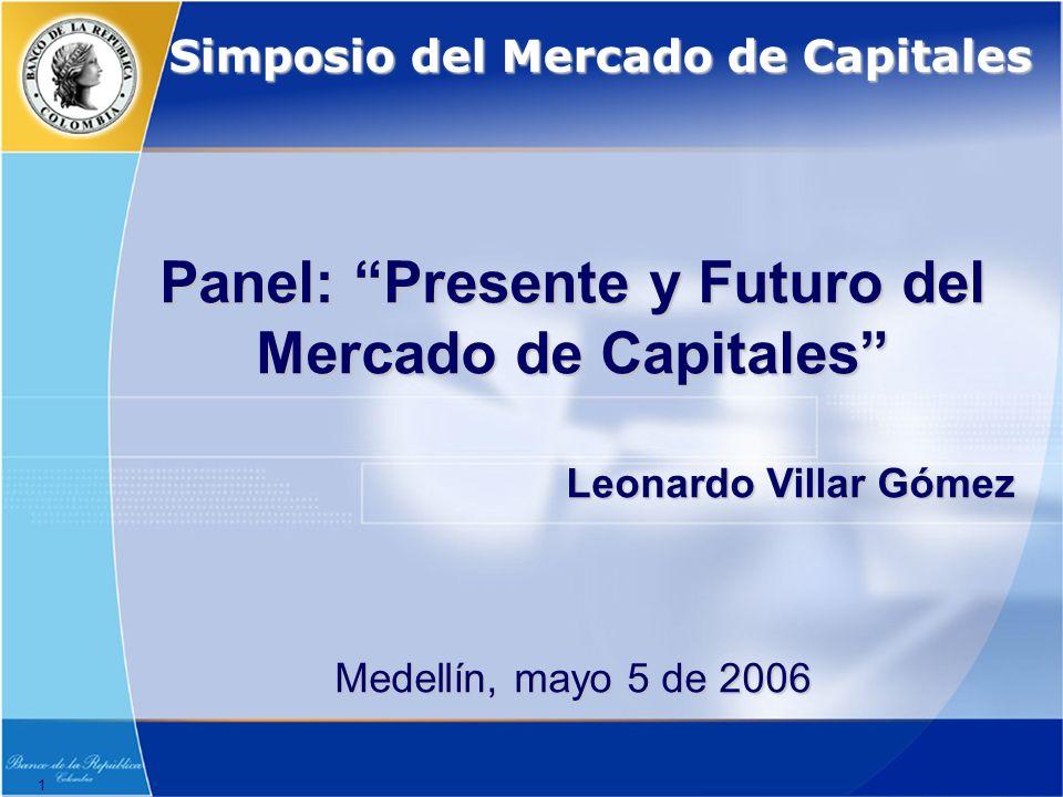 Panel: Presente y Futuro del Mercado de Capitales