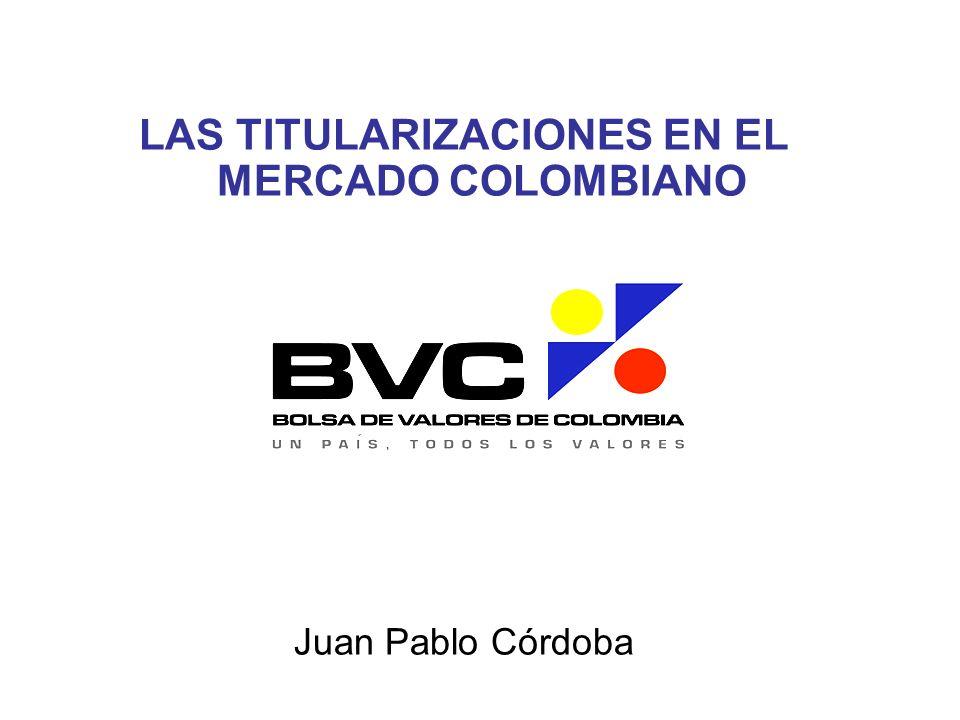 LAS TITULARIZACIONES EN EL MERCADO COLOMBIANO