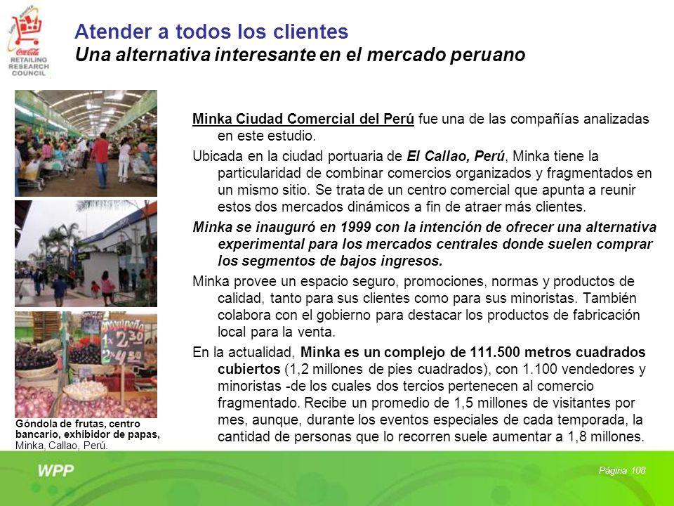 Atender a todos los clientes Una alternativa interesante en el mercado peruano