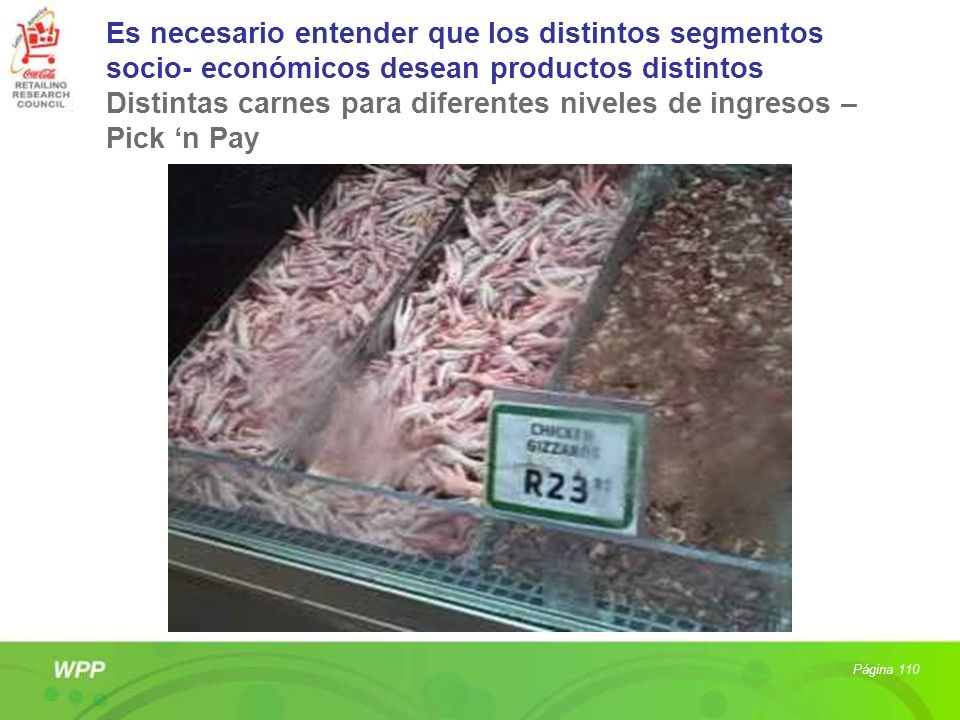 Distintas carnes para diferentes niveles de ingresos – Pick 'n Pay