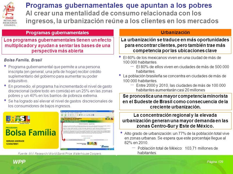 Programas gubernamentales