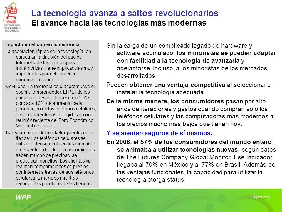 La tecnología avanza a saltos revolucionarios El avance hacia las tecnologías más modernas