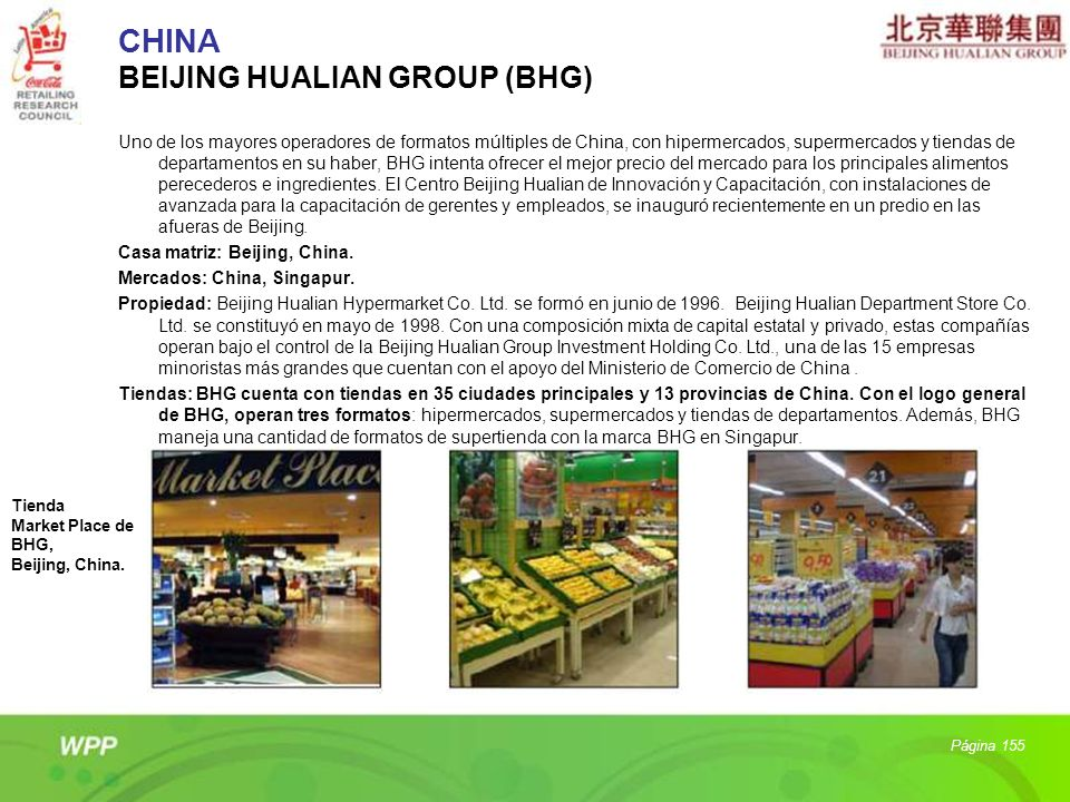 CHINA BEIJING HUALIAN GROUP (BHG)