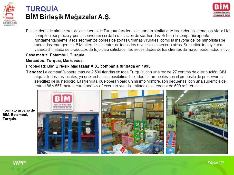 TURQUÍA BİM Birleşik Mağazalar A.Ş.