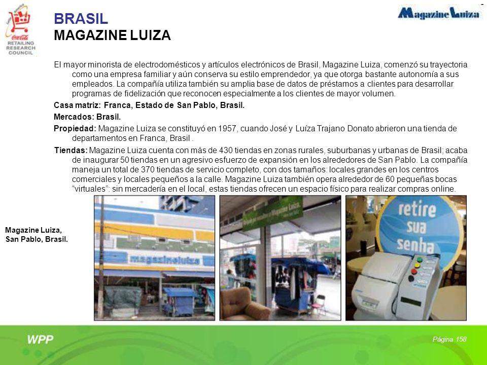 BRASIL MAGAZINE LUIZA
