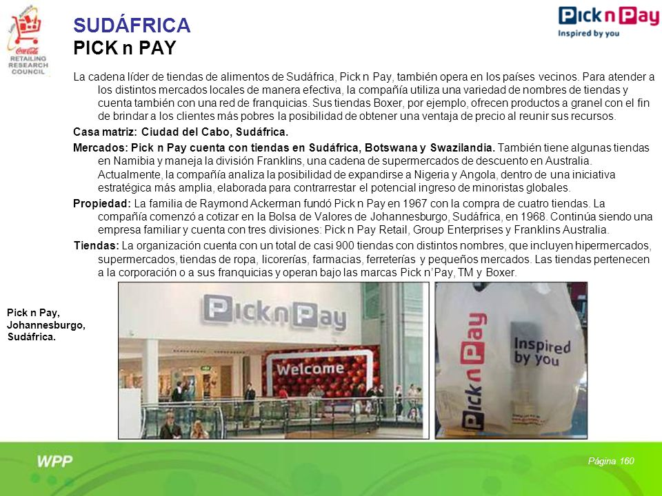 SUDÁFRICA PICK n PAY