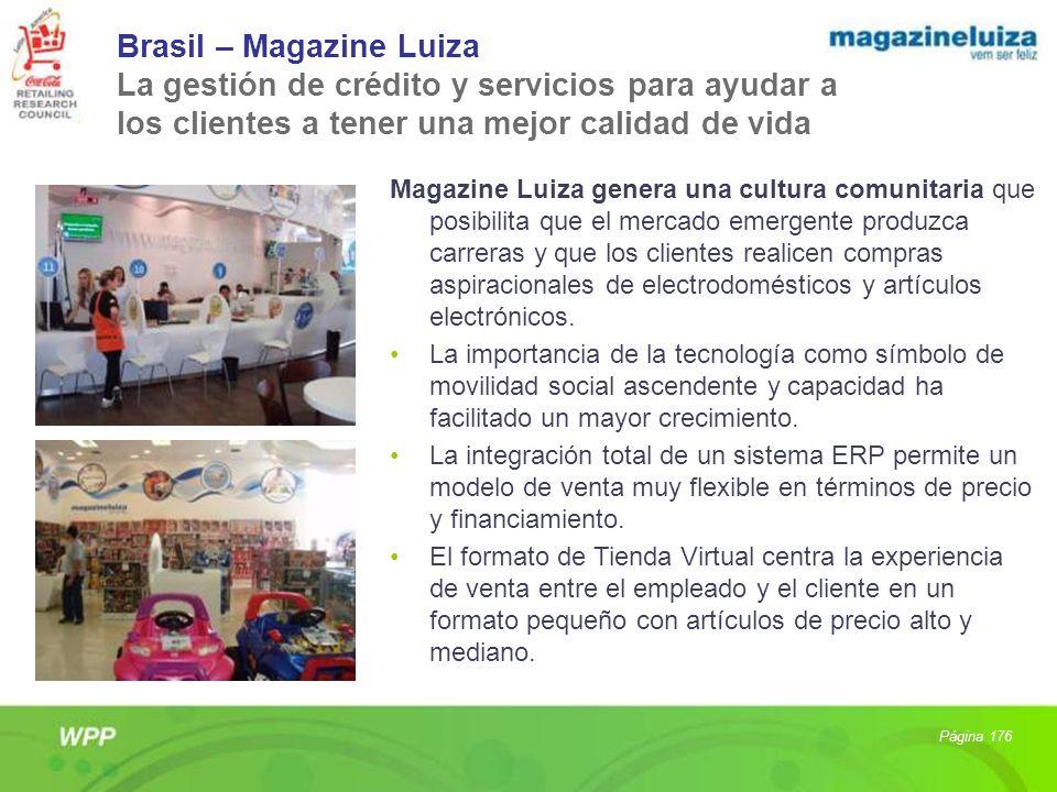 Brasil – Magazine Luiza La gestión de crédito y servicios para ayudar a los clientes a tener una mejor calidad de vida