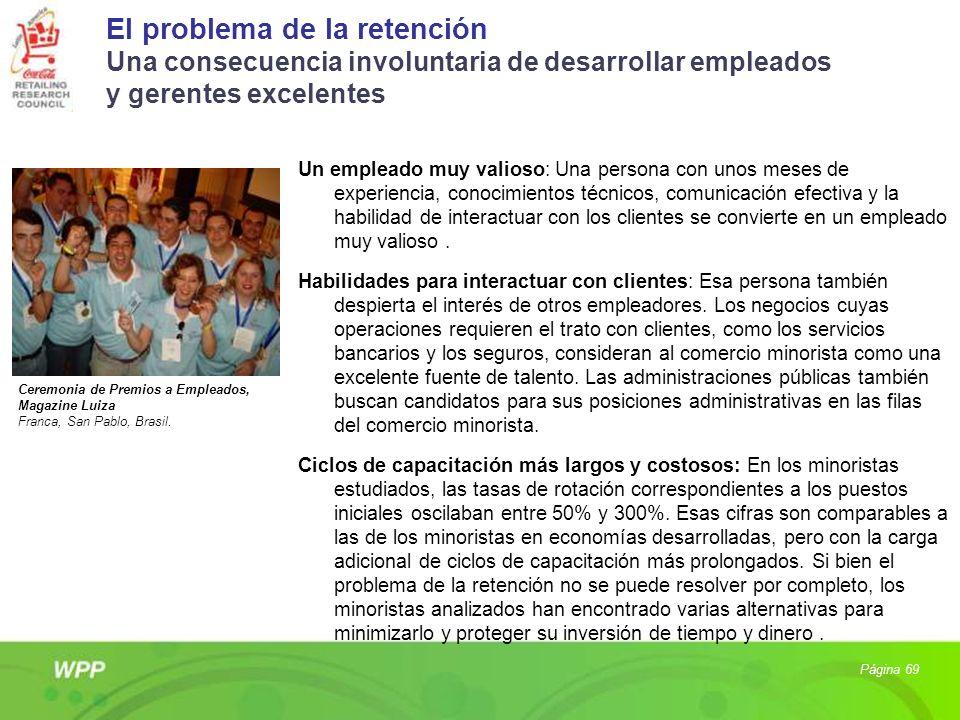 El problema de la retención Una consecuencia involuntaria de desarrollar empleados y gerentes excelentes