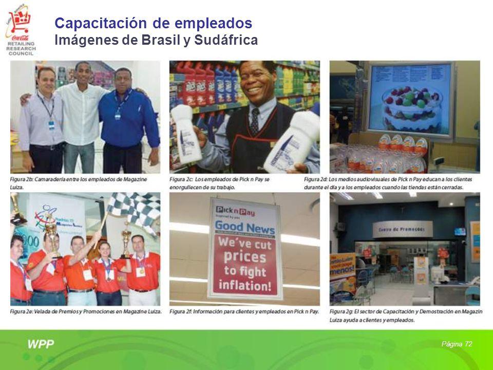 Capacitación de empleados Imágenes de Brasil y Sudáfrica