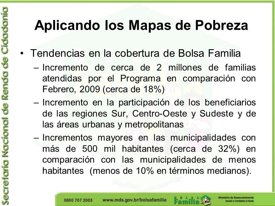 Aplicando los Mapas de Pobreza