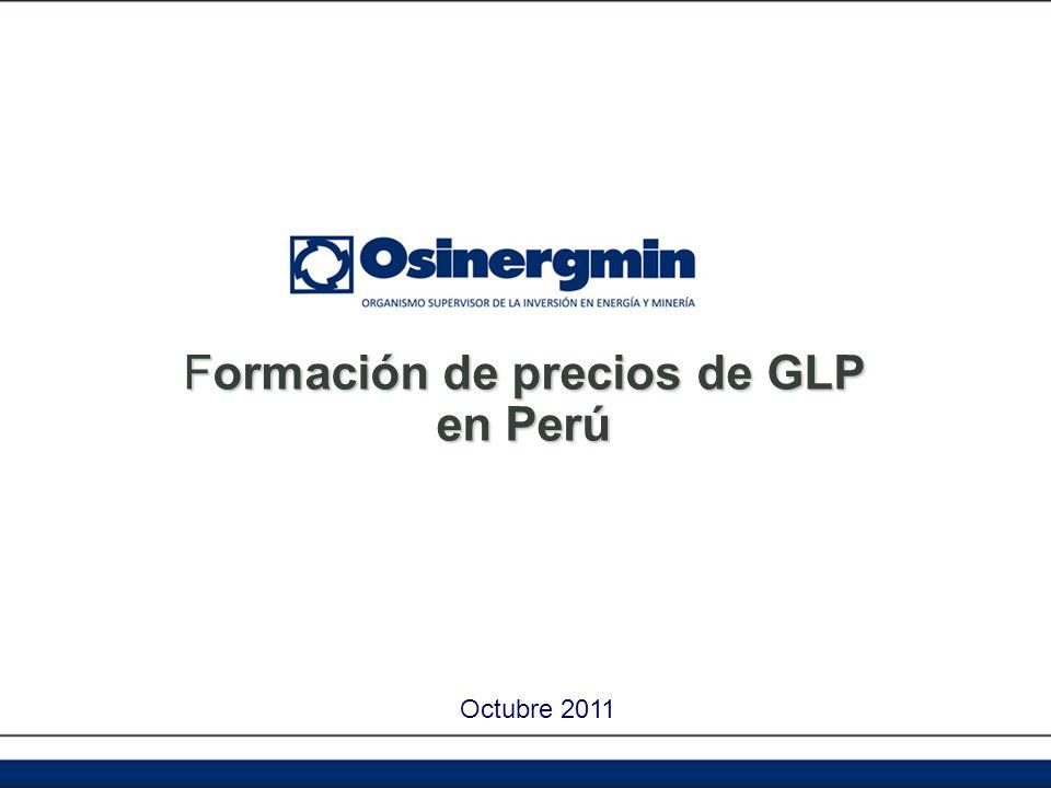 Formación de precios de GLP en Perú