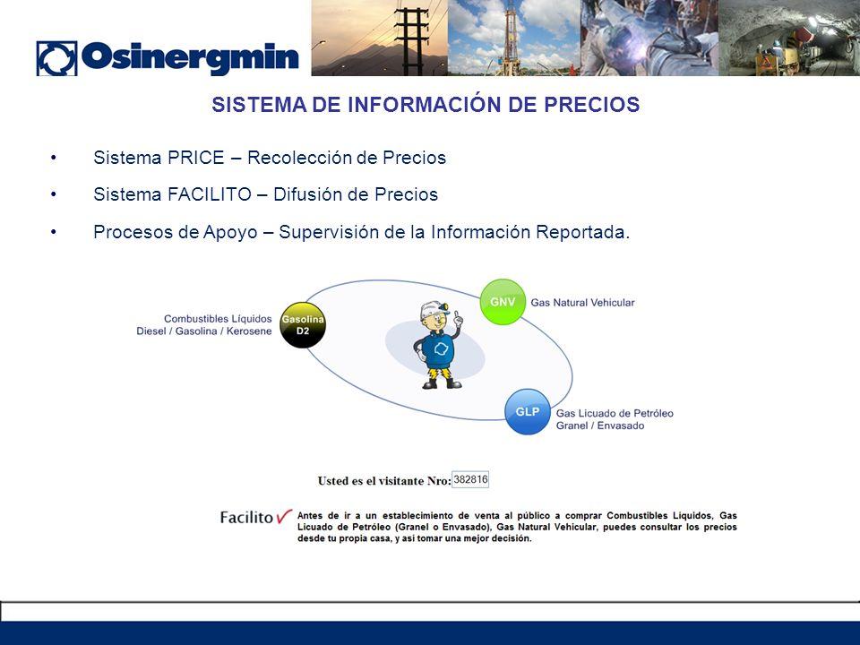 SISTEMA DE INFORMACIÓN DE PRECIOS