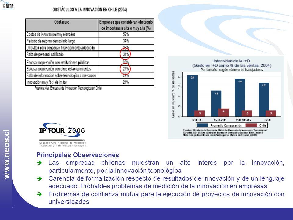 www.neos.cl Principales Observaciones