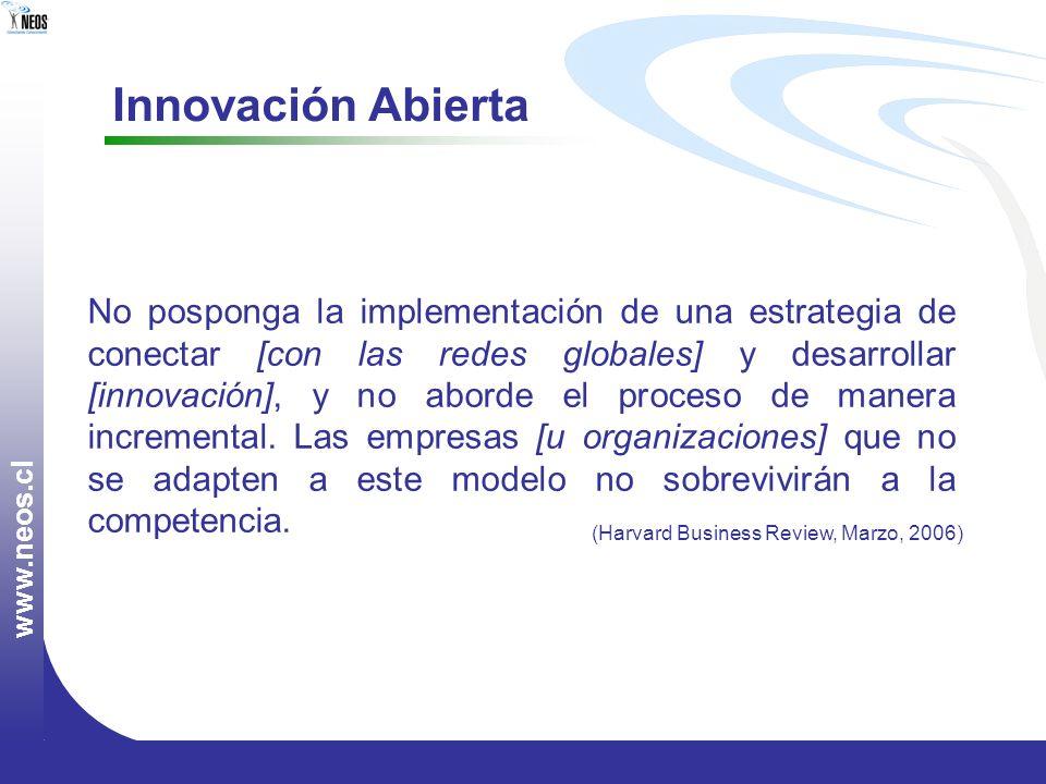 www.neos.cl Innovación Abierta.