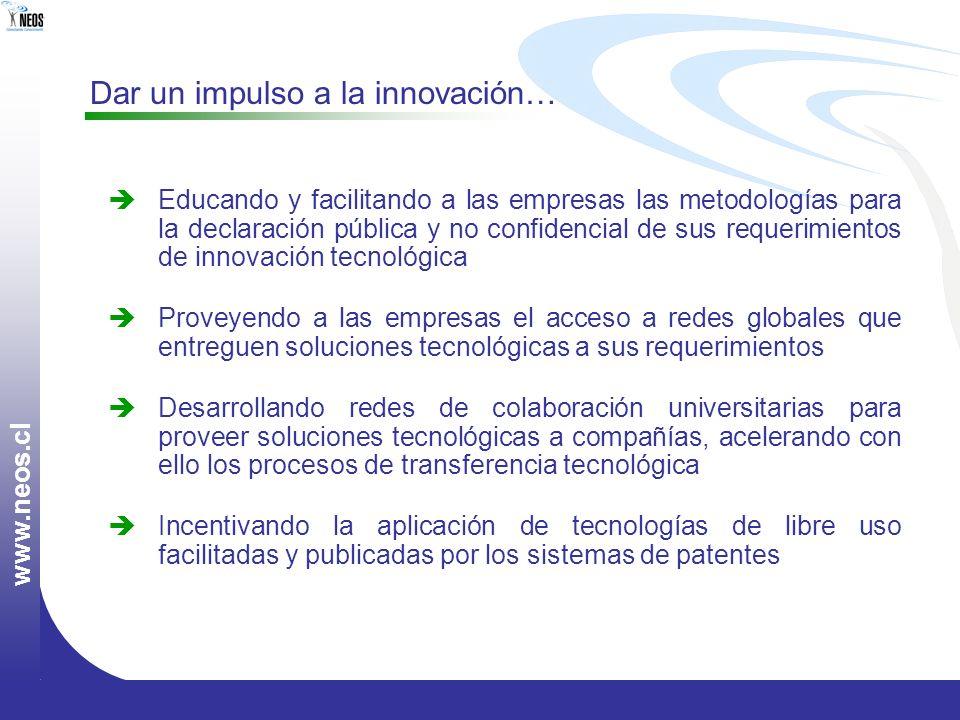 Dar un impulso a la innovación…