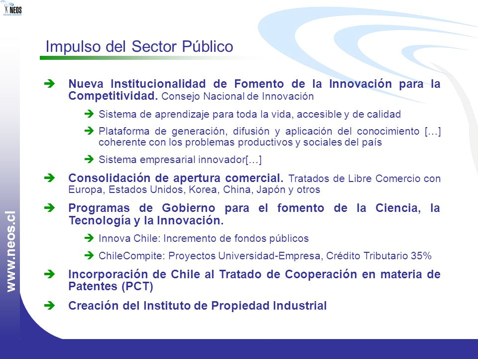 Impulso del Sector Público