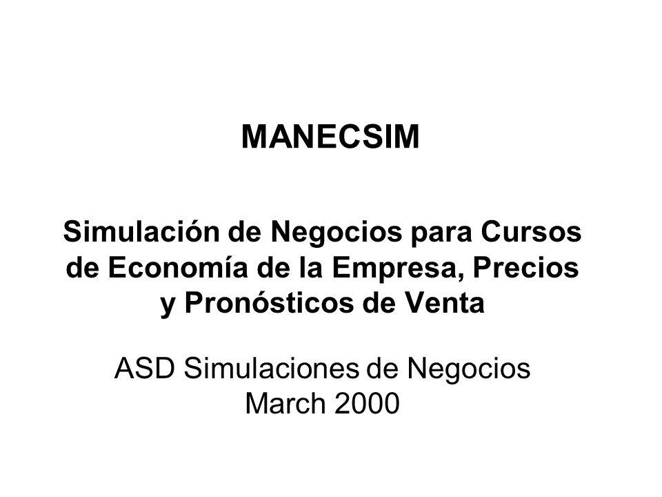 ASD Simulaciones de Negocios