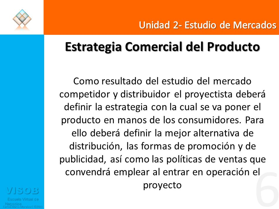 Estrategia Comercial del Producto