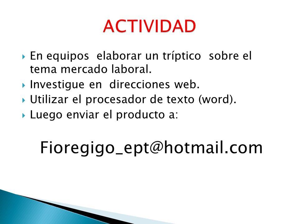 ACTIVIDAD Fioregigo_ept@hotmail.com