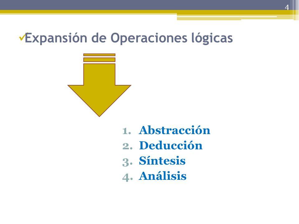 Expansión de Operaciones lógicas