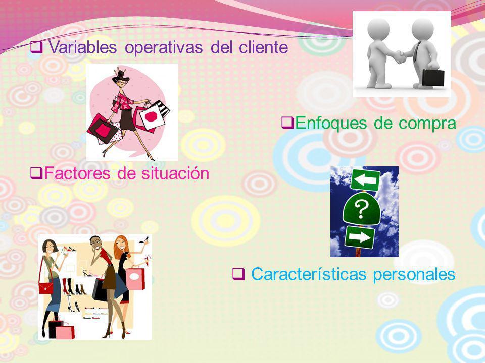 Variables operativas del cliente