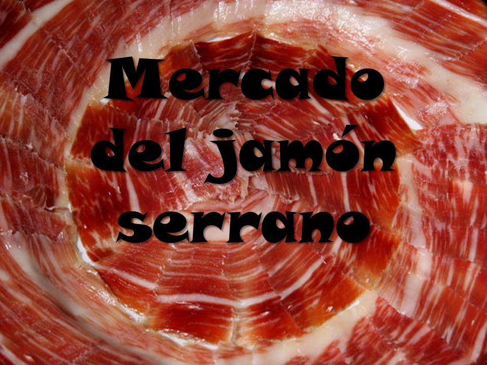 Mercado del jamón serrano