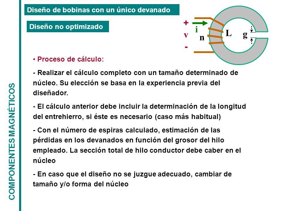 + i L v g n - COMPONENTES MAGNÉTICOS