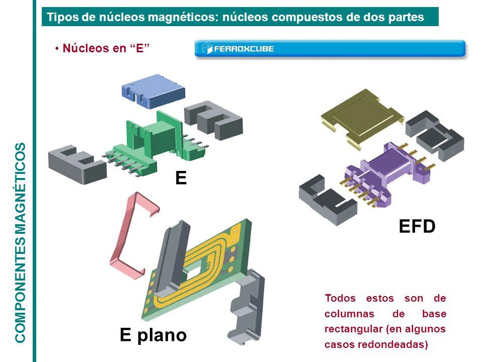 E EFD E plano COMPONENTES MAGNÉTICOS