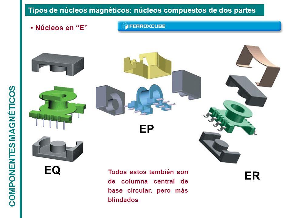 EP EQ ER COMPONENTES MAGNÉTICOS