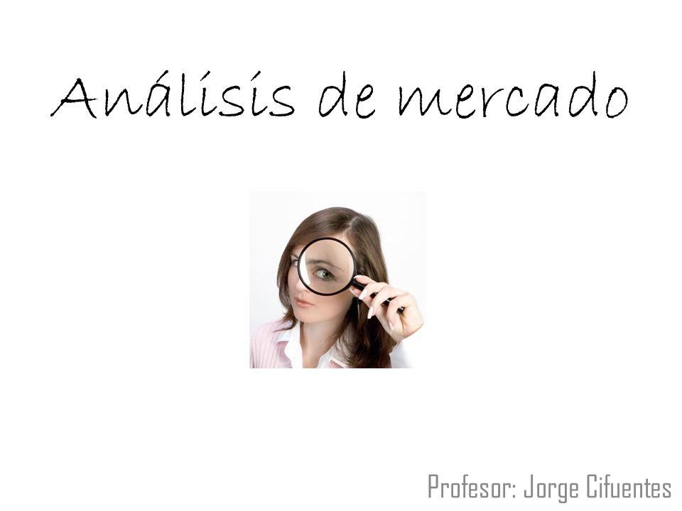 Profesor: Jorge Cifuentes