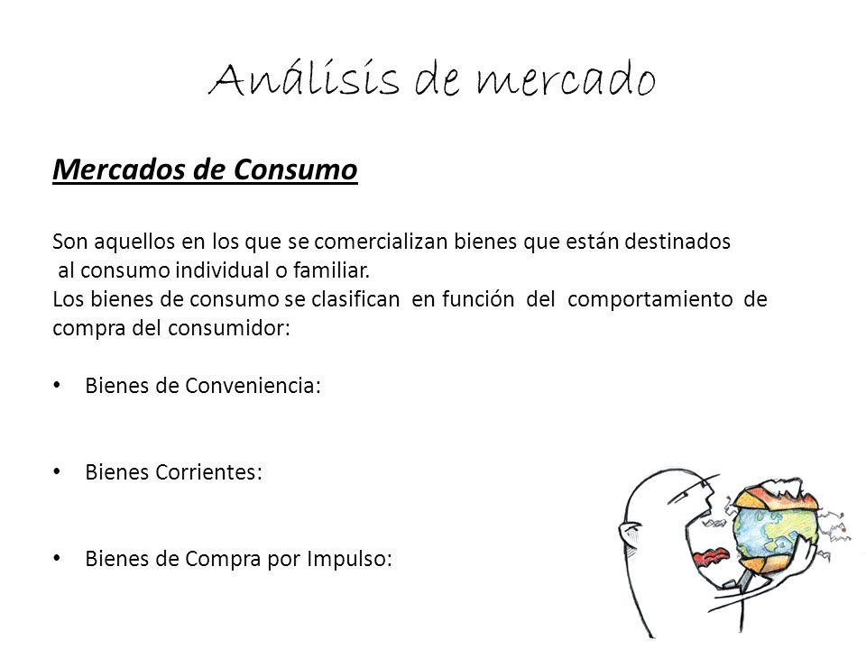 Análisis de mercado Mercados de Consumo