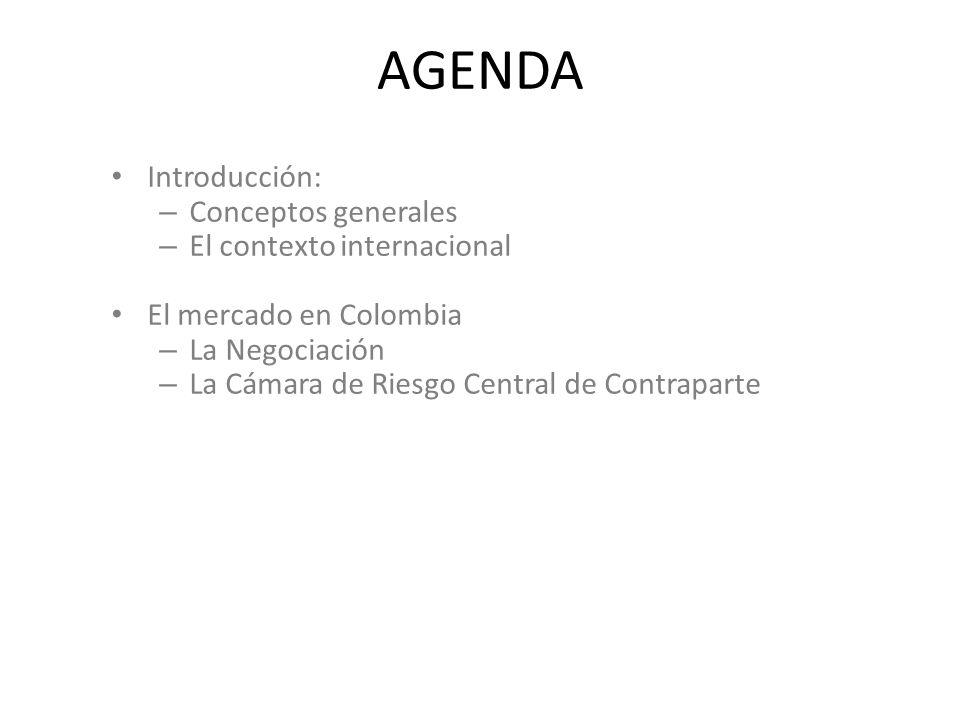 AGENDA Introducción: Conceptos generales El contexto internacional