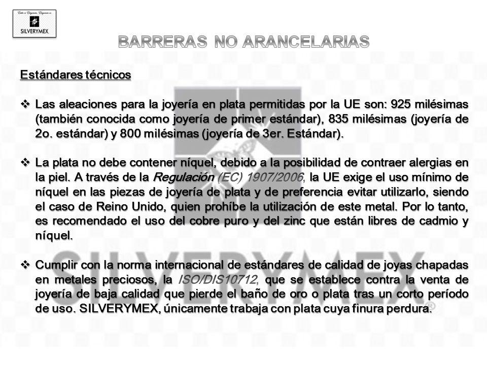 BARRERAS NO ARANCELARIAS