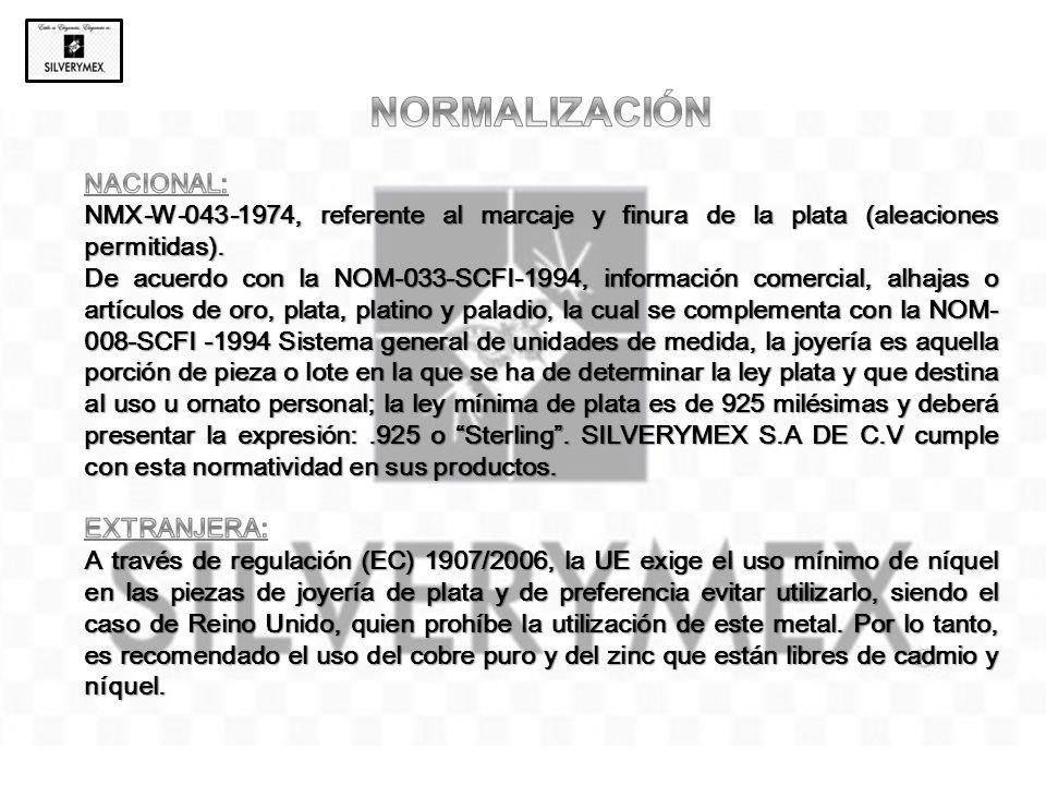 NORMALIZACIÓN NACIONAL:
