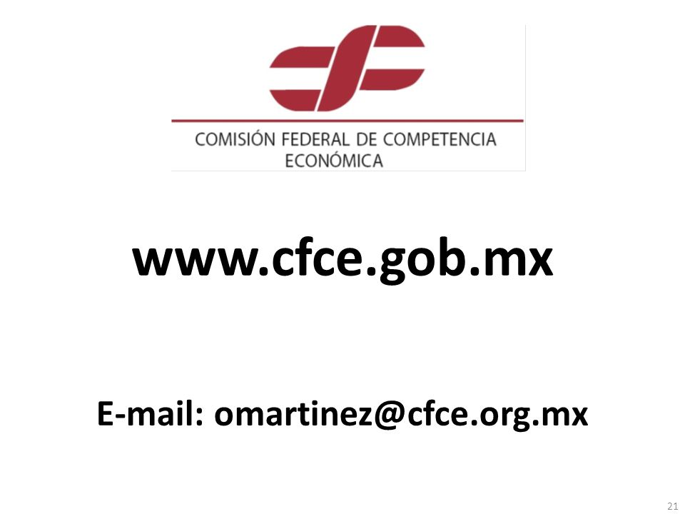 E-mail: omartinez@cfce.org.mx
