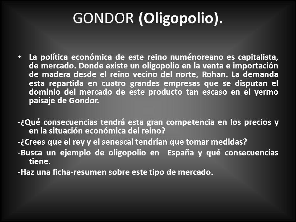 GONDOR (Oligopolio).