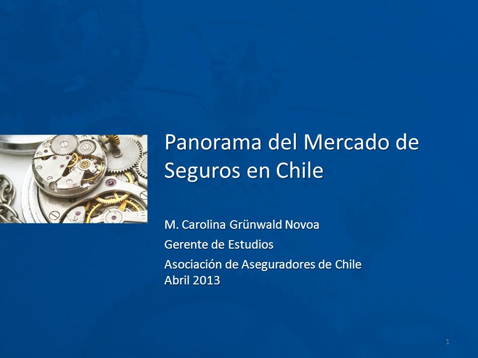 Panorama del Mercado de Seguros en Chile