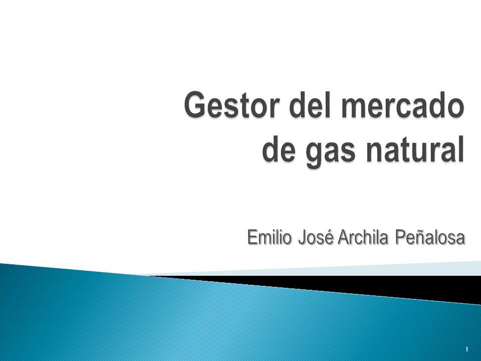 Gestor del mercado de gas natural Emilio José Archila Peñalosa