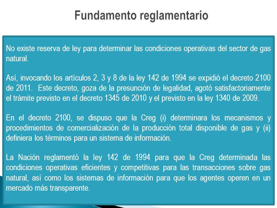 Fundamento reglamentario