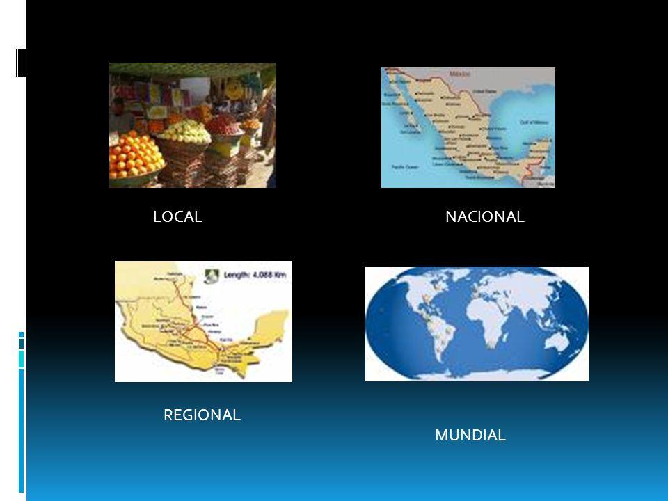 LOCAL NACIONAL REGIONAL MUNDIAL
