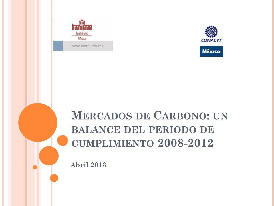 Mercados de Carbono: un balance del periodo de cumplimiento 2008-2012