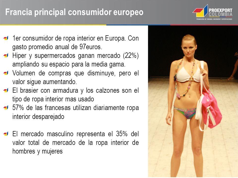 Francia principal consumidor europeo