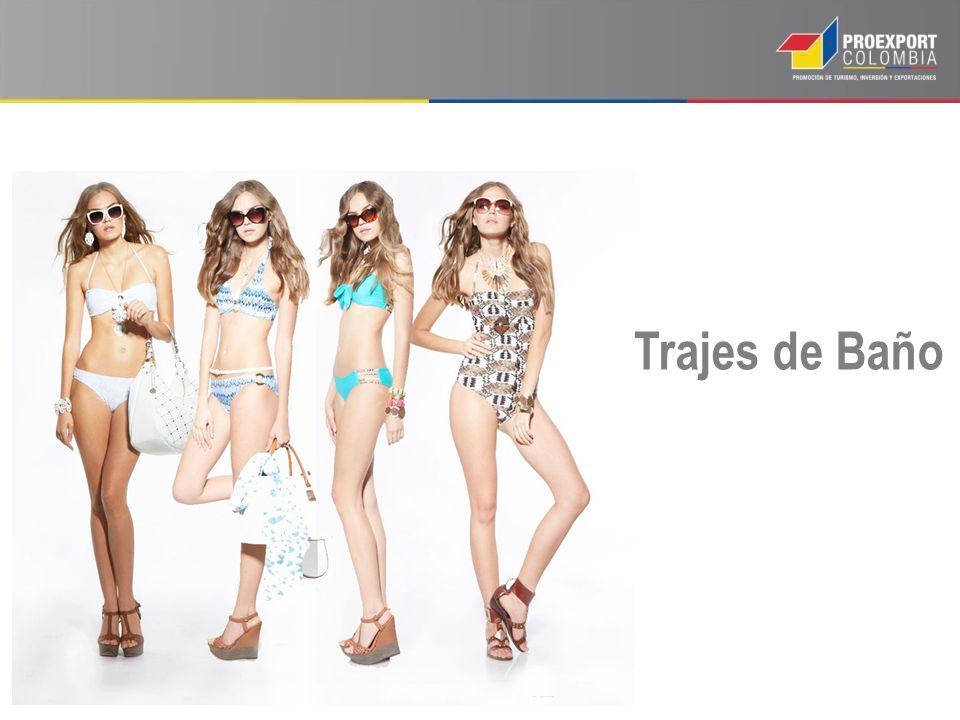 Trajes de Baño Le bain est un secteur porteur de la consommation dans le monde. + 2 % par an.