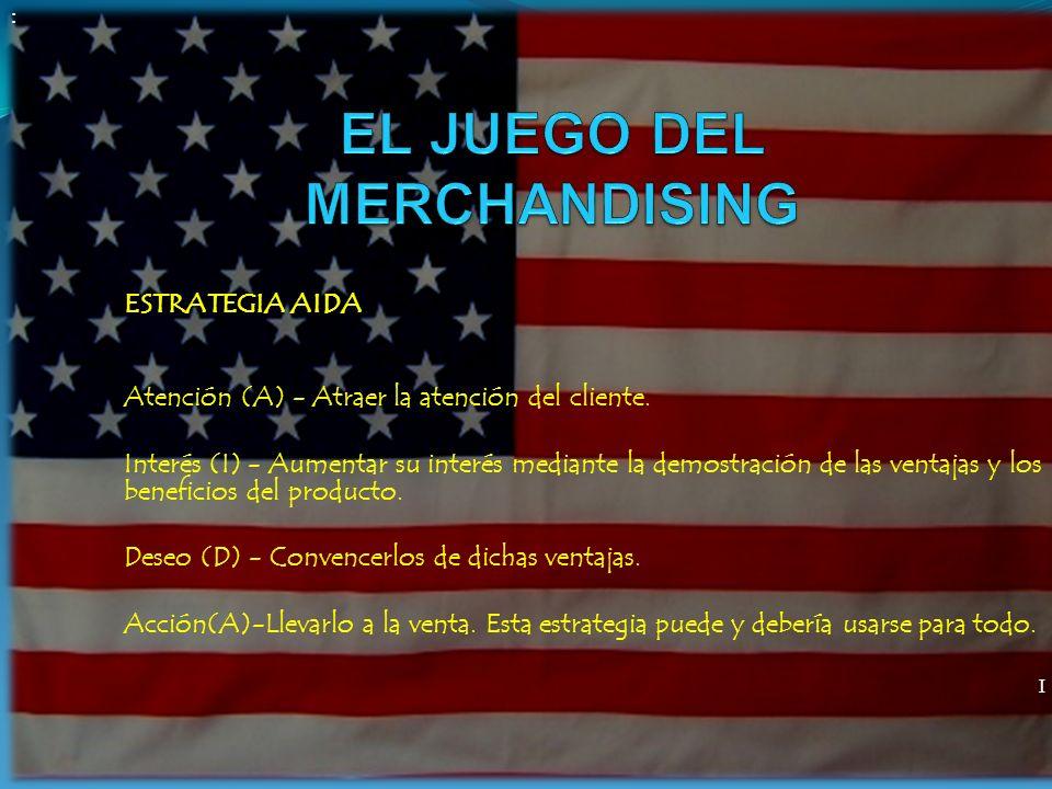 EL JUEGO DEL MERCHANDISING