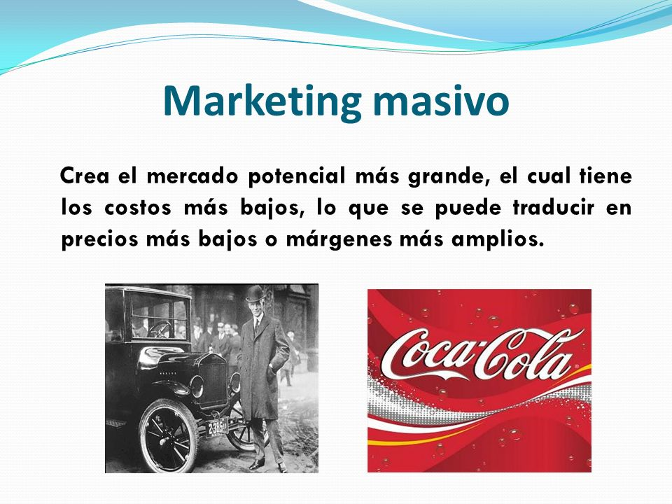 Marketing masivo