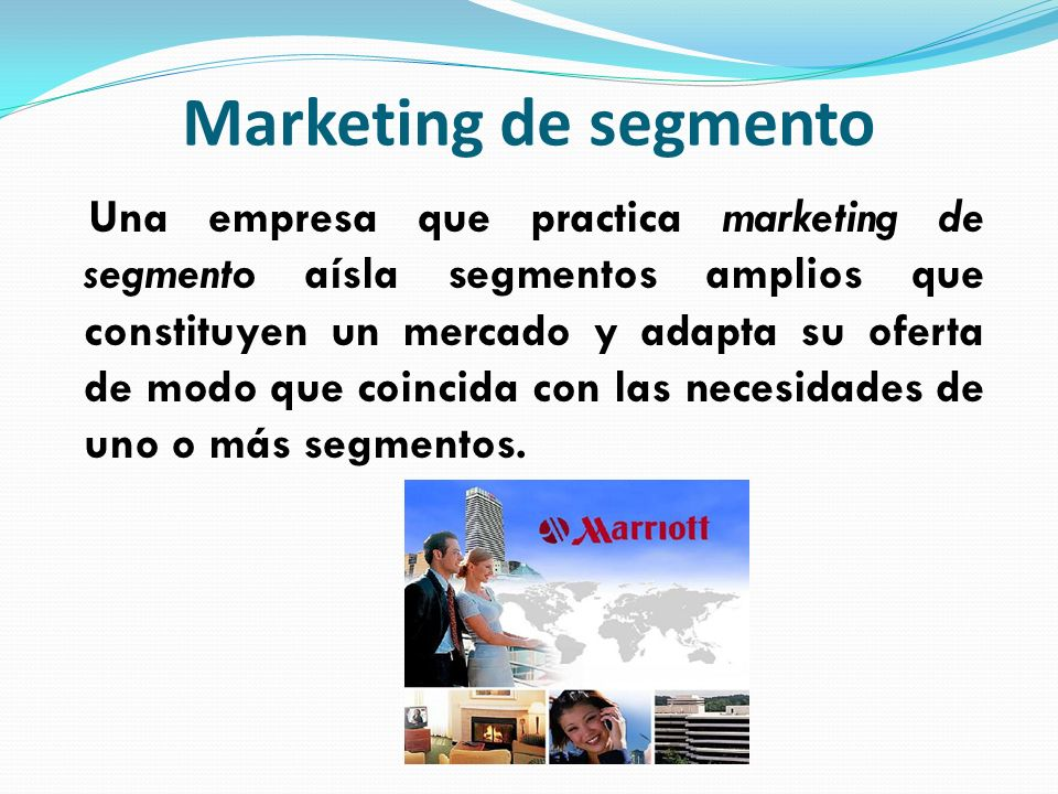 Marketing de segmento
