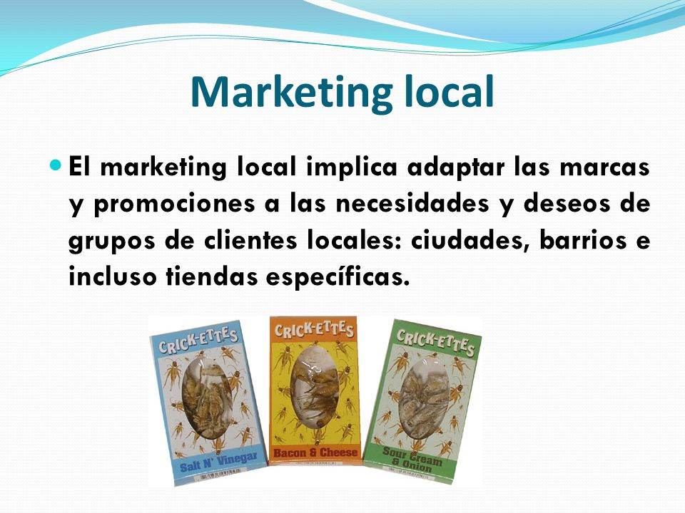 Marketing local