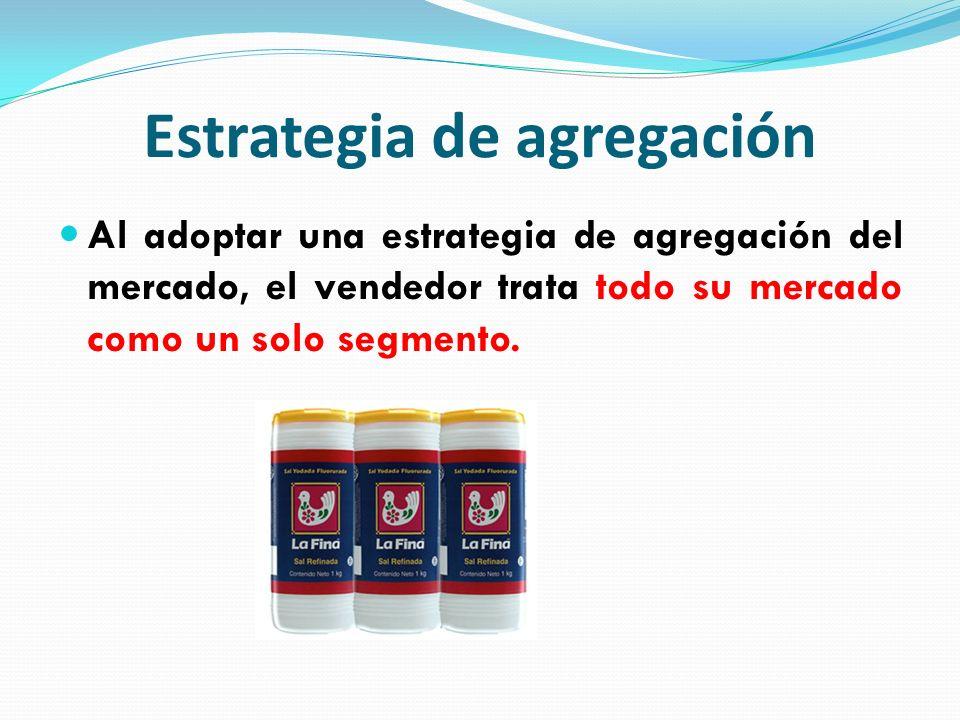 Estrategia de agregación