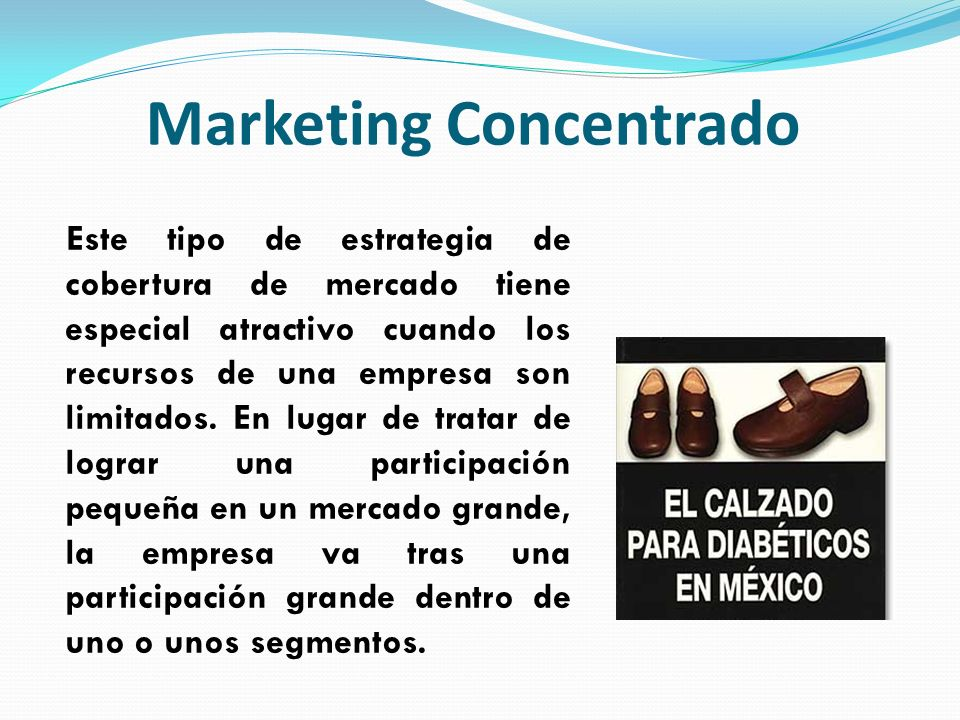 Marketing Concentrado