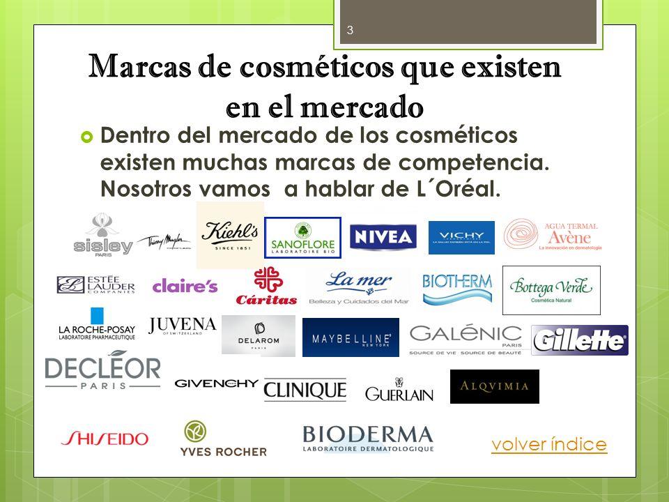 Marcas de cosméticos que existen en el mercado